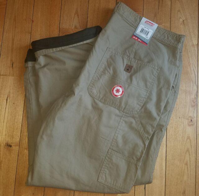 Men S Raven Coleman Fleece Lined Rugged Pants Size 36w 30l For Sale Online Ebay