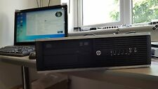 HP 6200 Elite i3 2100  3.1GHz 4GB DDR3 500GB HDD DVDRW WINDOWS 7 Pro