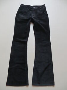 Levi's 525 Leder Jeans Hose W 30 /L 34 game leather Denim style ECHT Lederhose !