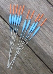 HAND-MADE-POLE-FLOATS-10-FLOATS-50-50-MAD-SUMMER-PRICES
