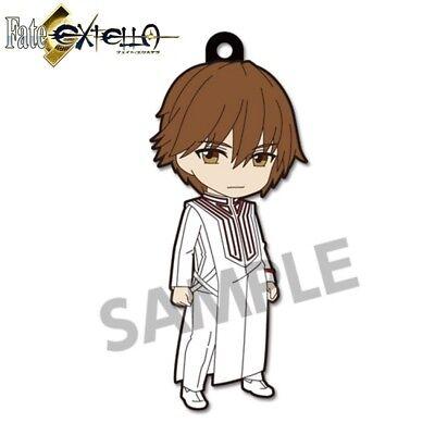 Pikuriru Fate//EXTELLA Trading Strap 2 Rubber Charm Protagonist Hakuno Kishinami