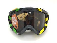 SPY+ Optic ZED Snow Goggle 311019736070 Black/Neon w/ (2) Bronze/Persimmon Lens
