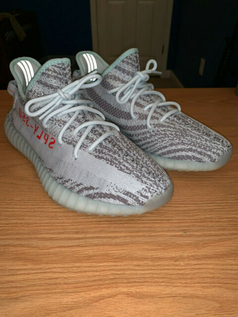 half off dc396 8b15c adidas Yeezy Boost 350 V2 Blue Tint Size 11