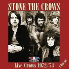 Live Crows 1972-1973 by Stone the Crows (CD, Jul-2008, 2 Discs, Angel Air Records)