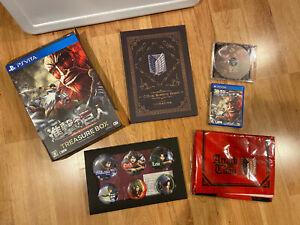 ATTACK-ON-TITAN-TREASURE-BOX-Limited-Edition-JAPAN-Ver-PS-Vita