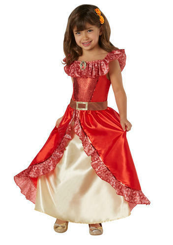 Elena of Avalor Deluxe Girls Fancy Dress Disney Princess Childrens Kids Costume