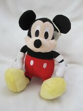 """MICKEY MOUSE 12"""" SOFT TOY Wv HANGING LOOP, BIG BUTT, BIG HANDS AND DANGLY LEGS"""
