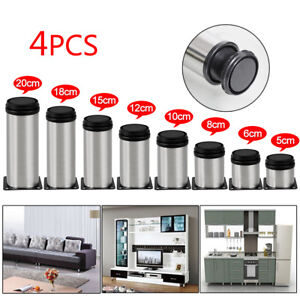 4-Pcs-Stainless-Steel-Leg-Round-Metal-Feet-Adjustable-Kitchen-Cabinet-Stand-Base