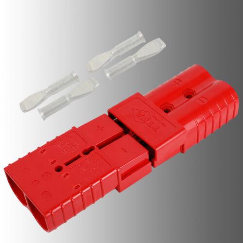 Phrase Batterie Connecteur Avec Embrayage Rouge Anderson SB 350//REMA SR 350 A 50 mmâ²