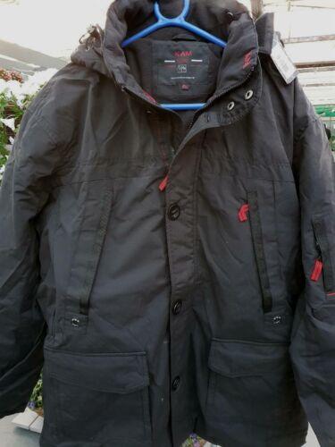Black sale 7xl Padded 2xl 3xl Jacket Hooded Kam ZRaSwAqw