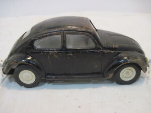 Punch Buggy Car >> Details About Vintage Tonka Pressed Steel Black Volkswagon 52680 Punch Buggy Car Toy