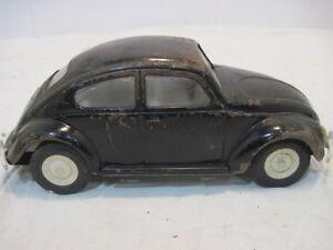 Vintage Tonka Pressed Steel Black Volkswagon 52680 Punch Buggy Car