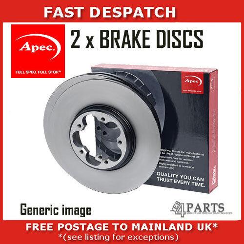 FRONT BRAKE DISCS FOR MITSUBISHI DSK2198
