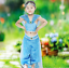 Women Adult Kids Princess Jasmine Aladdin Cosplay Animation Costume Party UK
