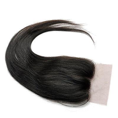 """100% Brazilian Virgin Human Hair Lace Wigs Top Closure 8""""-18""""Body Wave 4""""x4"""""""