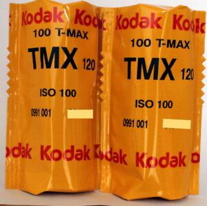 2-x-KODAK-TMAX-100-120-Roll-CHEAP-BLACK-amp-WHITE-FILM-DATED-06-2019