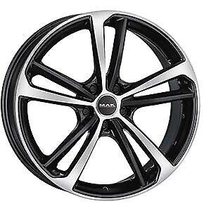"Cerchi in lega MAK NURBURG BLACK MIRROR Ford FOCUS ST DA3 2003/>2010 19/"" 8 5X108"