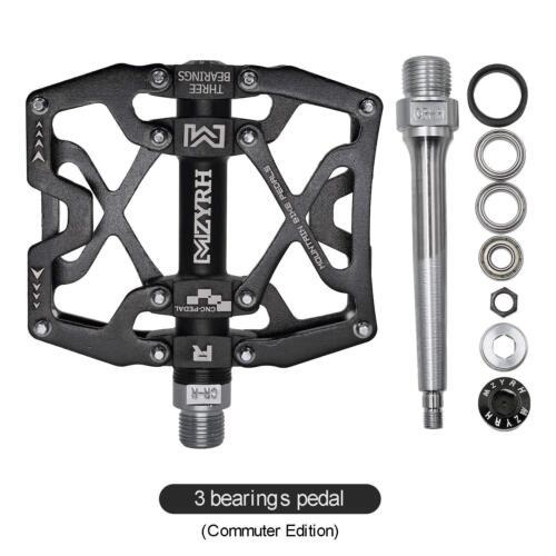 "9//16/"" Pedals Cycling Mountain MTB BMX Bike Bicycle 3 Bearing Flat-Platform"
