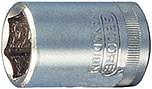 """Steckschl.-Einsatz 1/4"""" 13 mm 6kt. Gedore E/D/E Logistik-Cente"""