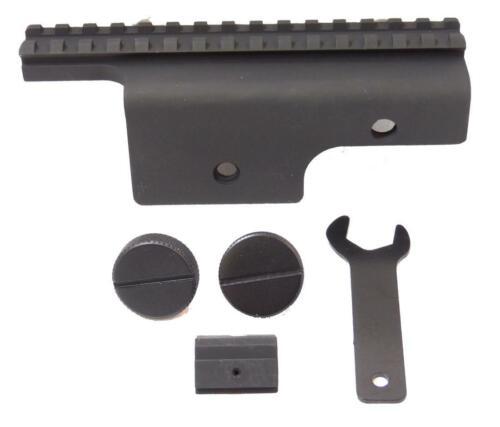 Pirate Arms M14 Scope Mount Black Aeg Metal Mount Airsoft 20mm Rail Mount