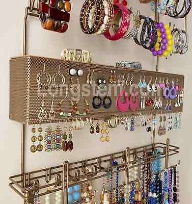 Longstem#7100 Bronze Overdoor/Wall 300 pc Jewelry Organizer Valet ~ Rated Best