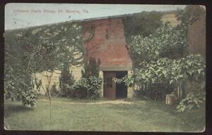 Postcard-Ft-Monroe-Virginia-VA-Jefferson-Davis-Prison-1907
