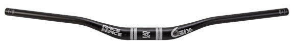Raceface Sixc MTB Dh Am Carbono Barra 35.0 X 35mm Subir X 820mm - Negro blancooo