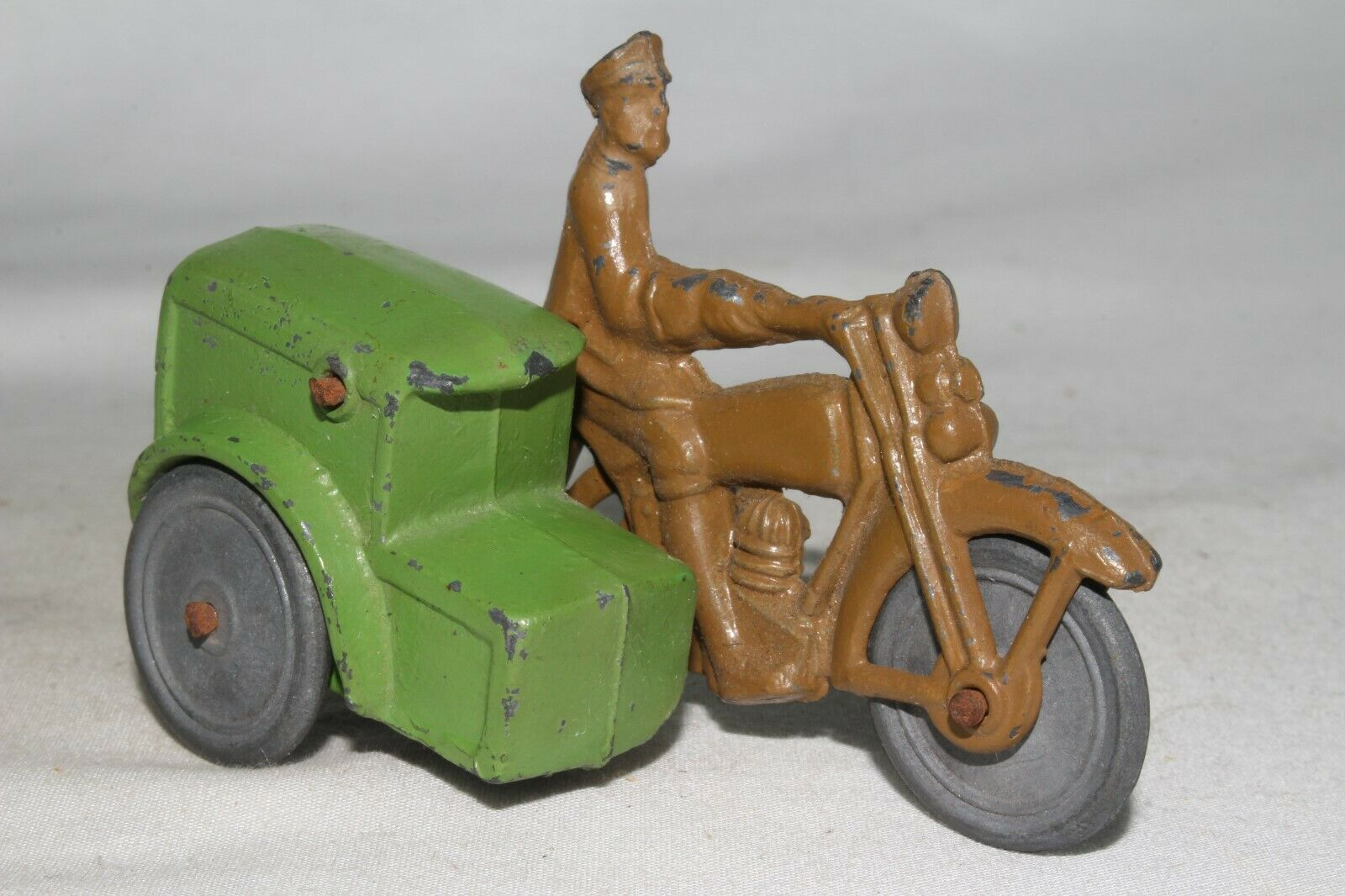 1930's Barclay Parcel Post Delivery Motorcycle, Nice Original