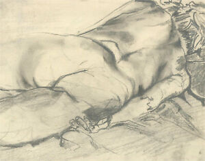 Don Hemming - Contemporary Graphite Drawing, Female Nude