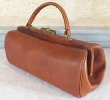 petit sac à main style sac docteur medecin cuir doctor bag