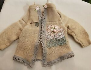 New-Jacket-IN-Shabby-Style-For-Approx-15-11-16-17-11-16in-Bears-Or-Doll
