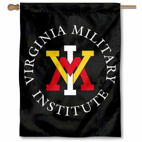 Virginia keydets militare nero a due lati Casa Flag