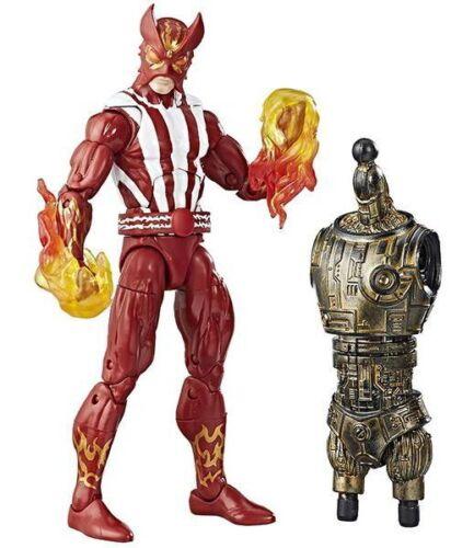 Hasbro NEW Sunfire Marvel Legends X-Men 6-Inch Action Figure Warlock BAF