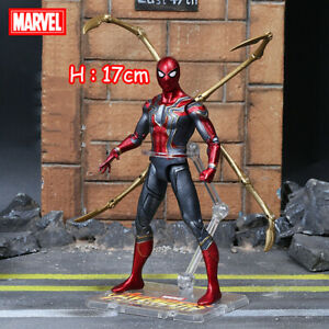 Spider-Man-Marvel-Avengers-Legends-Comic-Heroes-7in-Action-Figure-Child-Gift-Toy