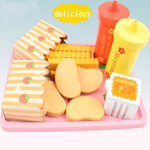 Fabulous Details About Wooden Play Food Role Pretend French Fries Child Kids Wood Kitchen Preschool Toy Home Interior And Landscaping Ymoonbapapsignezvosmurscom