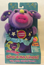 Singamaling Darcy Plush Sings Twinkle Little Star 3 Modes to Play Sing Purple