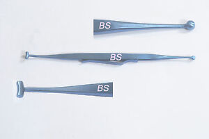 New-Titanium-Scleral-Depressor-double-ended-with-pocket-clip-Forceps