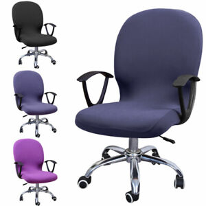 Swivel Chair Cover Stretchable Computer Washable Chair Cover For Office Home Ebay