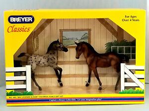 Breyer-683-Classic-Colorful-Foals-Set-Leopard-Appaloosa-Dun-Quarter-Horse-NIB