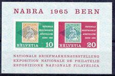 Svizzera 1965 Bf 20 esposizione filatelica di Berna mnh
