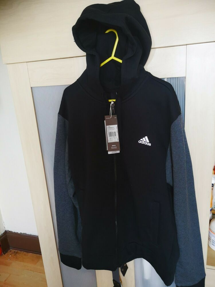 Adidas Co Energise Survêtement Top M Uk 40/42 Bnwt Gris/noir