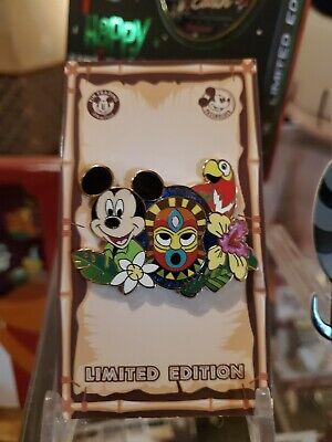 Disneyland 2020 Mickey Tiki Room Passholder Pin