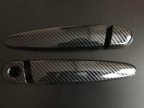 Manija de la puerta de carbono cubiertas para BMW 3 4 Serie M M3 M4 F80 F82 F83 Coupe Cabriolet
