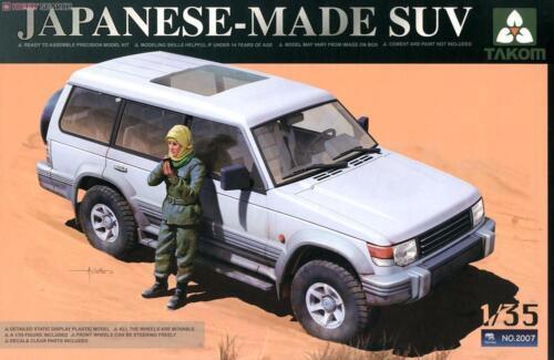Takom TAO2007 1//35 Japanese-Made SUV w//Figure