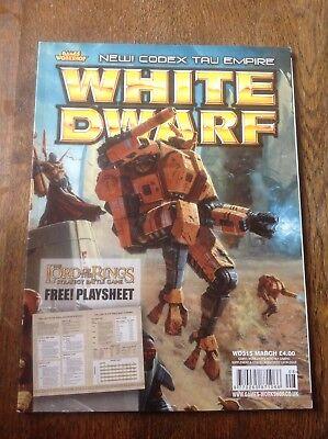 Affidabile Warhammer. White Dwarf Numero 315. Warhammer Magazine.-mostra Il Titolo Originale