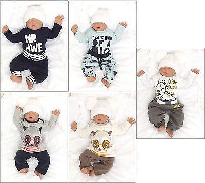 Haben Sie Einen Fragenden Verstand Baby 2er Set Jogginganzug Baumwolle Sweatshirt + Hose Gr 56 62 68 74 Englandmode Professionelles Design