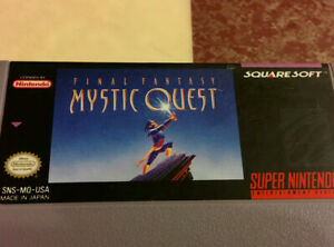 Super-Nintendo-SNES-Final-Fantasy-MYSTIC-QUEST-Game-Only-TESTED-WORKS-EXCELLENT