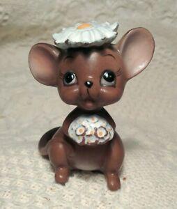 Adorable-Sweet-Vintage-Josef-Originals-Bride-Mouse-Original-Sticker-Japan