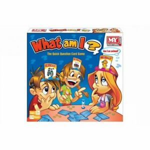 New What Am I Guessing Board Game Family Party Travel Card Toy