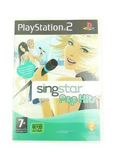 SINGSTAR Pop Hits - 30 brani-Playstation PS2 GAME -